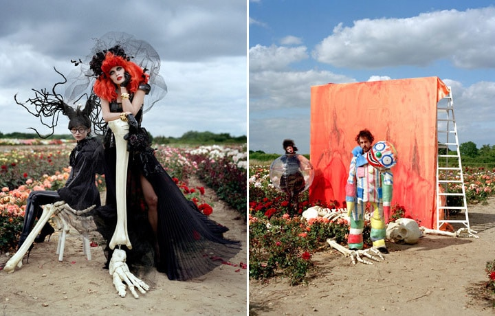 Tim Burton - Harper's Bazaar Fantasy