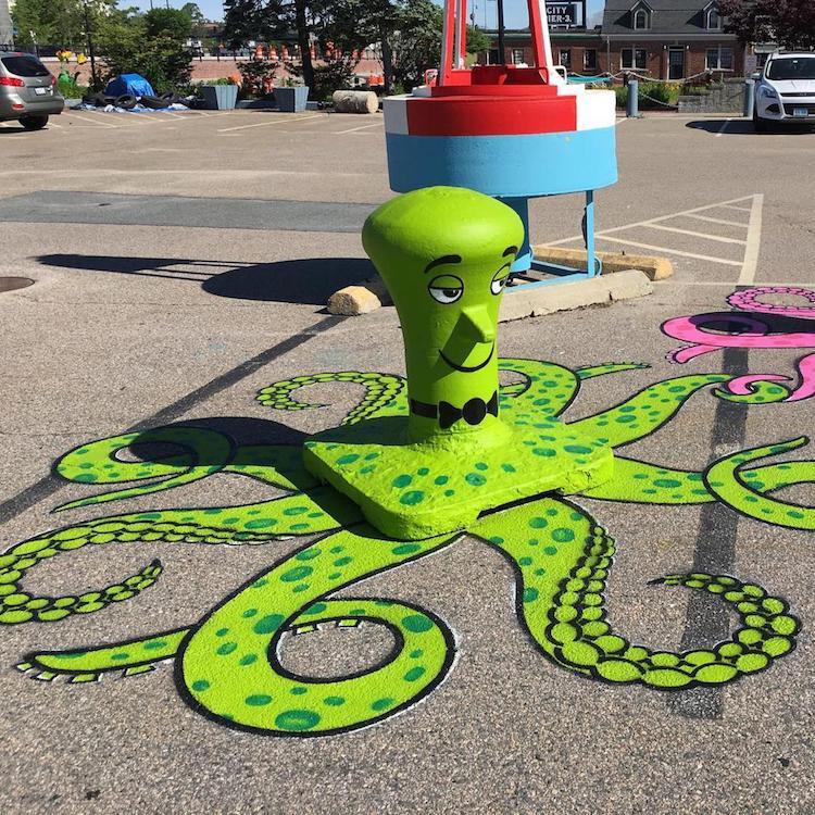 Tom Bob Clever Street Art