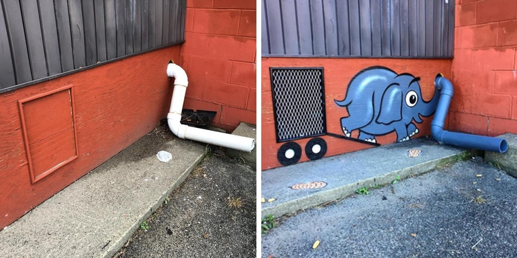 Tom Bob Street Art Installation