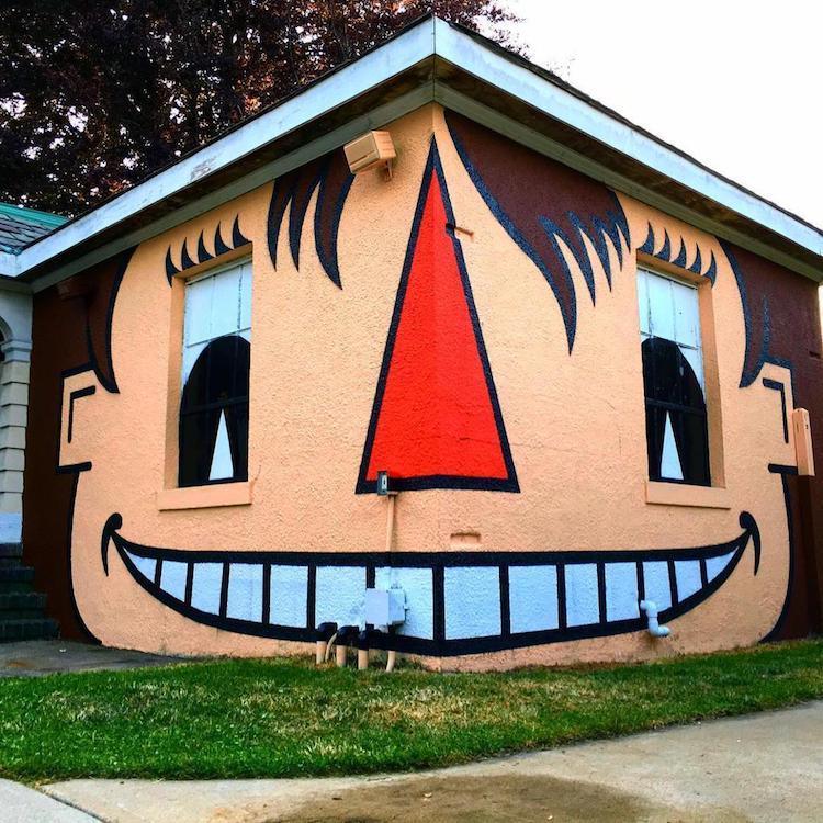 Tom Bob Funny Street Art