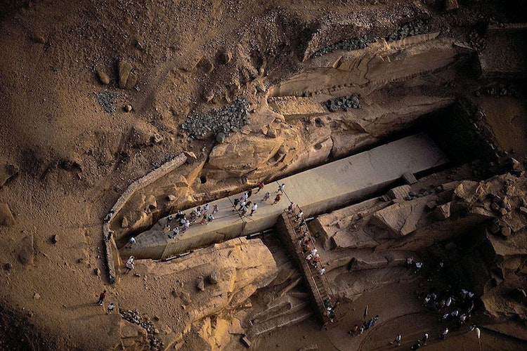 unfinished obelisk in aswan is more than 3 500 years old
