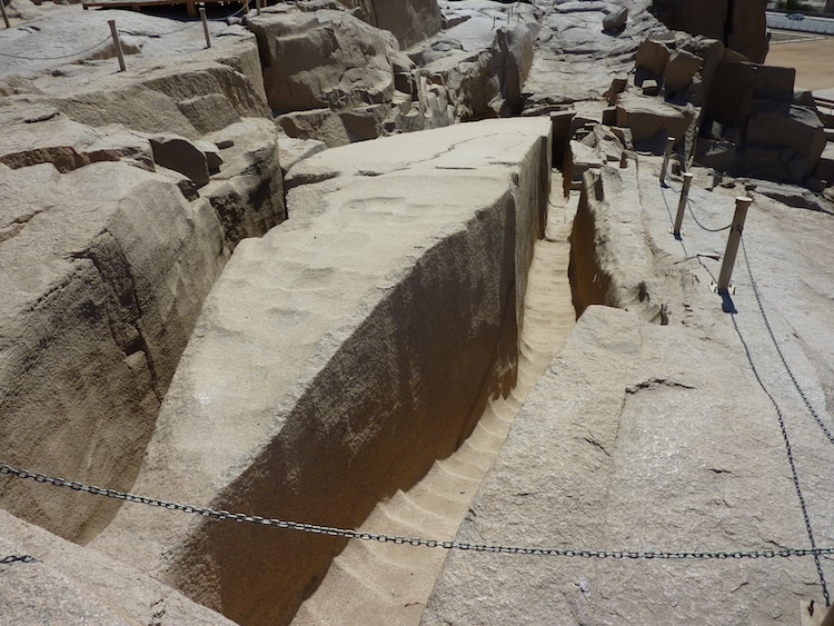 Unfinished Obelisk - Aswan, Egypt