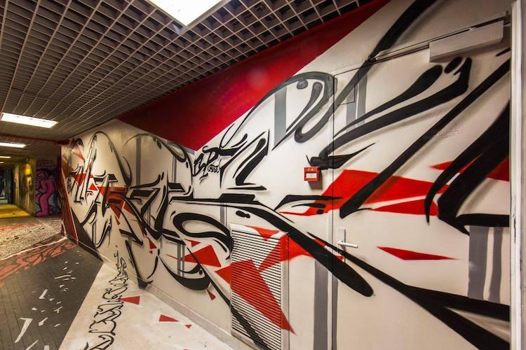 rehab 2 Artistas del graffiti parís