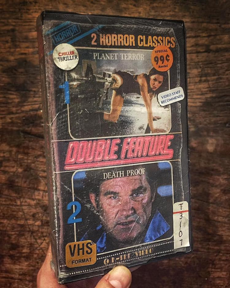 Downcycle VHS Tapes