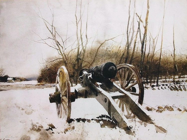 Famous Watercolor Painting