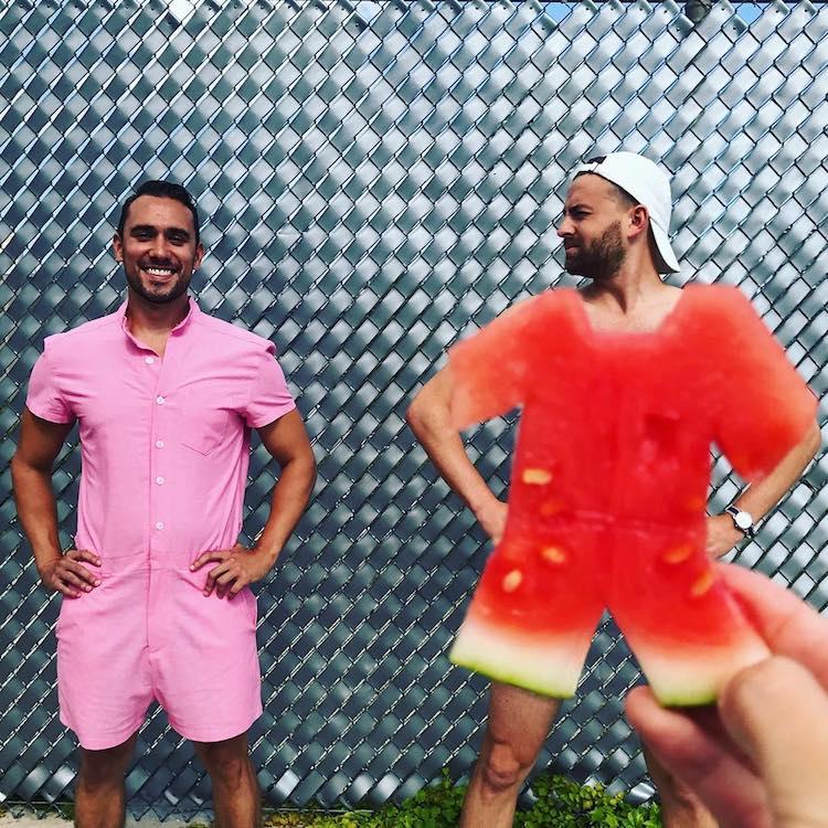 Watermelon Optical Illusion Dress