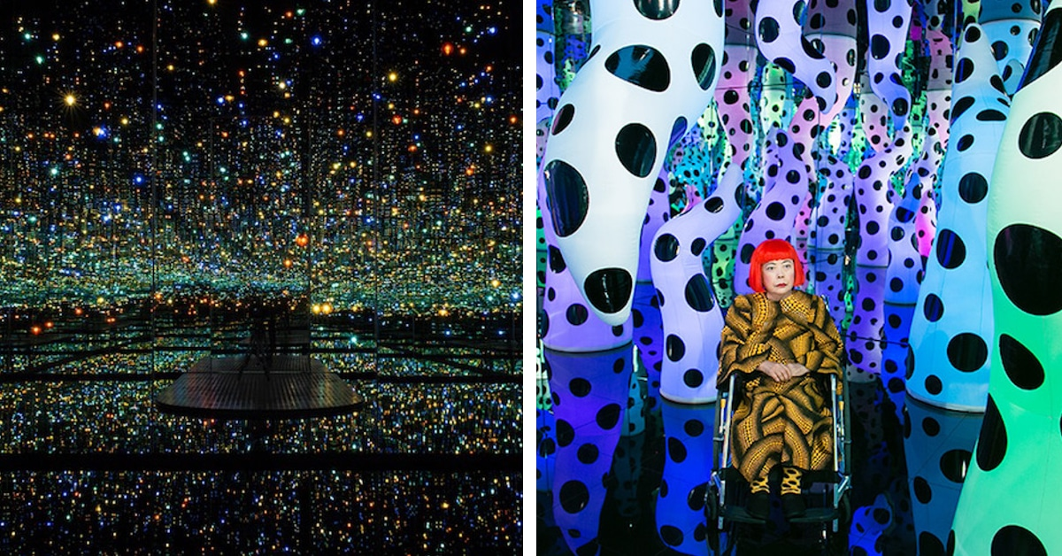 Mirror Room Interactive Art Installations By Yayoi Kusama