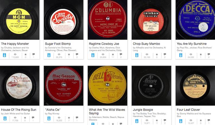 Gramophone Recordings