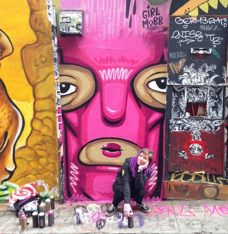 Girl Mobb - Graffiti Workshops for Girls