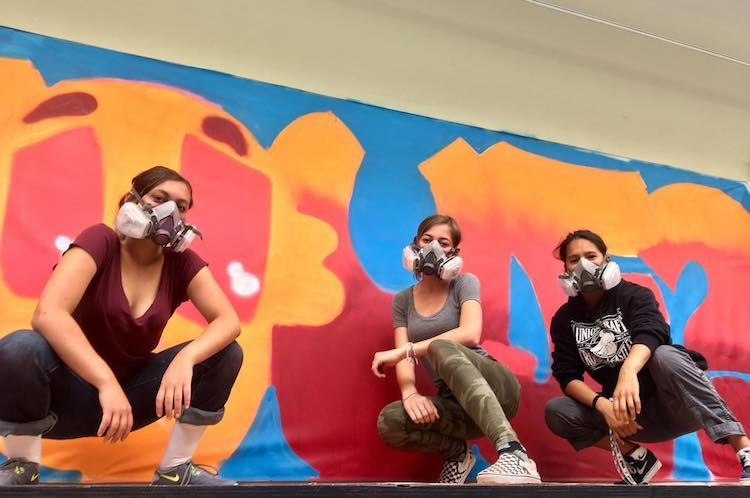 Girl Mobb - Graffiti Workshops for Girls