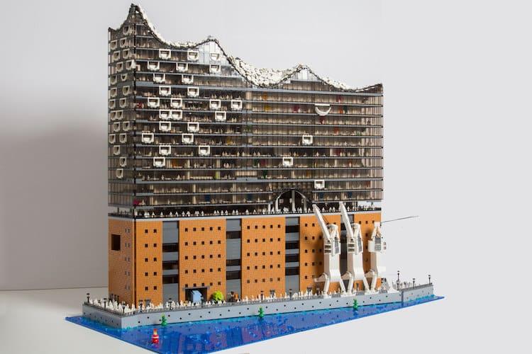 Elphilharmonie LEGO Architecture by Brick Monkey