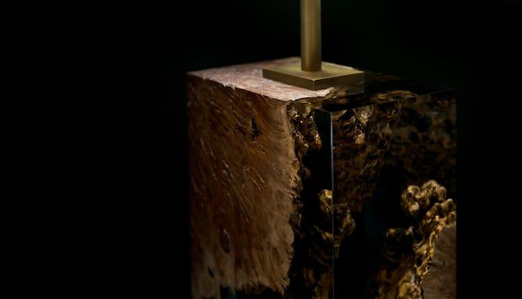 Wood Lamp by Iluka London