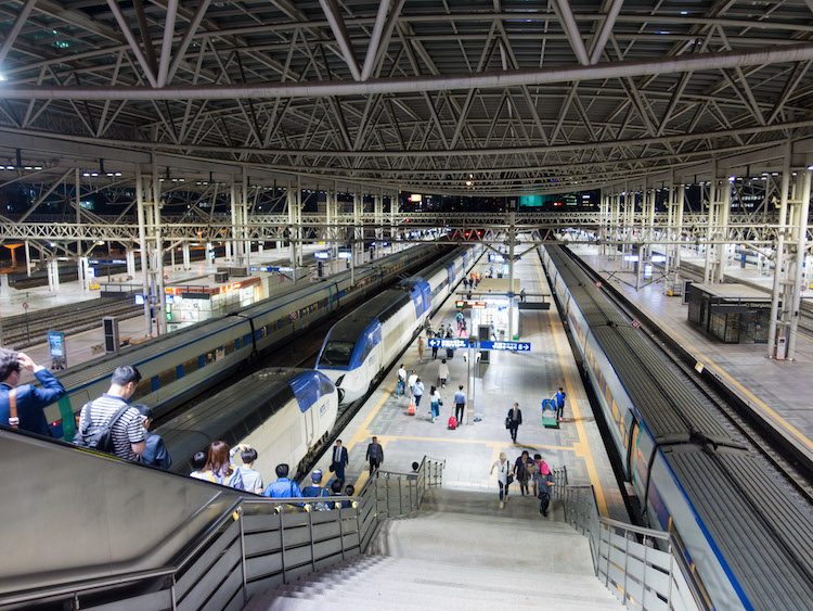 Jacob Laukaitis travel daily life South Korea