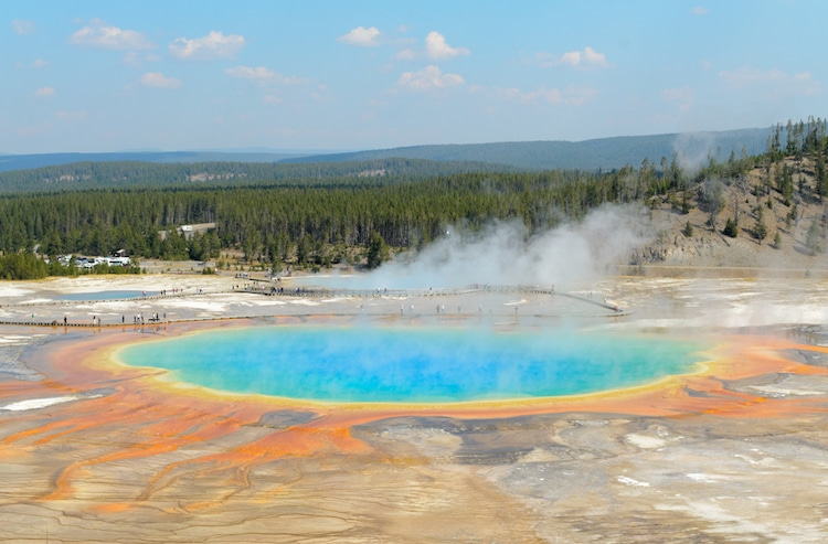 Yellowstone National Park NASA Supervolcano