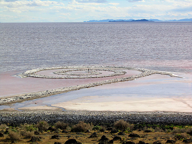 spiral jetty robert smithson