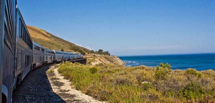 Amtrak Coast Starlight Train Amtrak West Coast