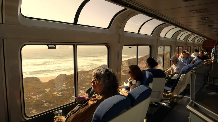 Amtrak Coast Starlight Train Amtrak West Coast