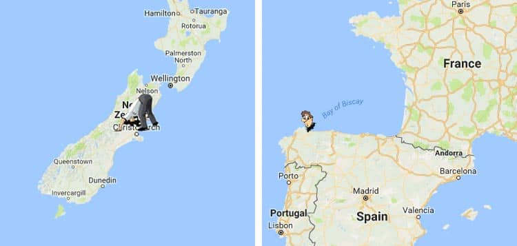 Interactive Antipodes Map Shows the Exact Opposite Side of the World