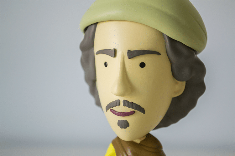Today is Art Day Artist Action Figures Old Masters
