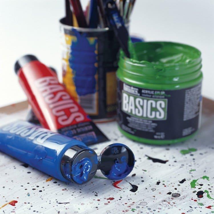 La mejor marca de pintura acrílica