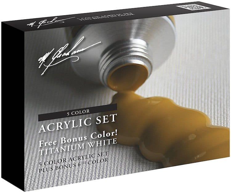 Mejor marca de pintura acrílica