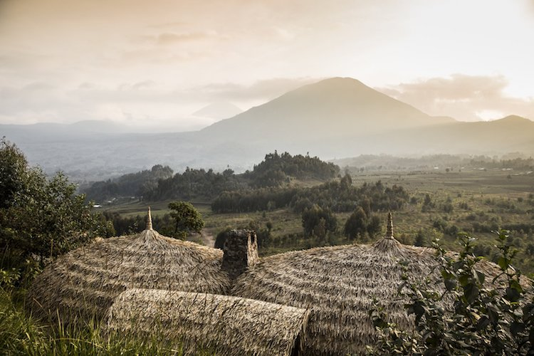 Luxury Eco-Travel Lodge is Nestled in an Eroded Volcano in Rwanda