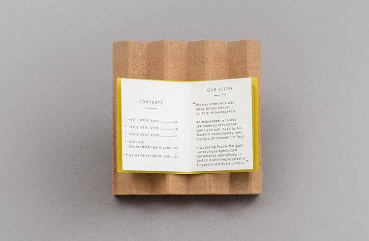 Tarjetas de presentación creativas