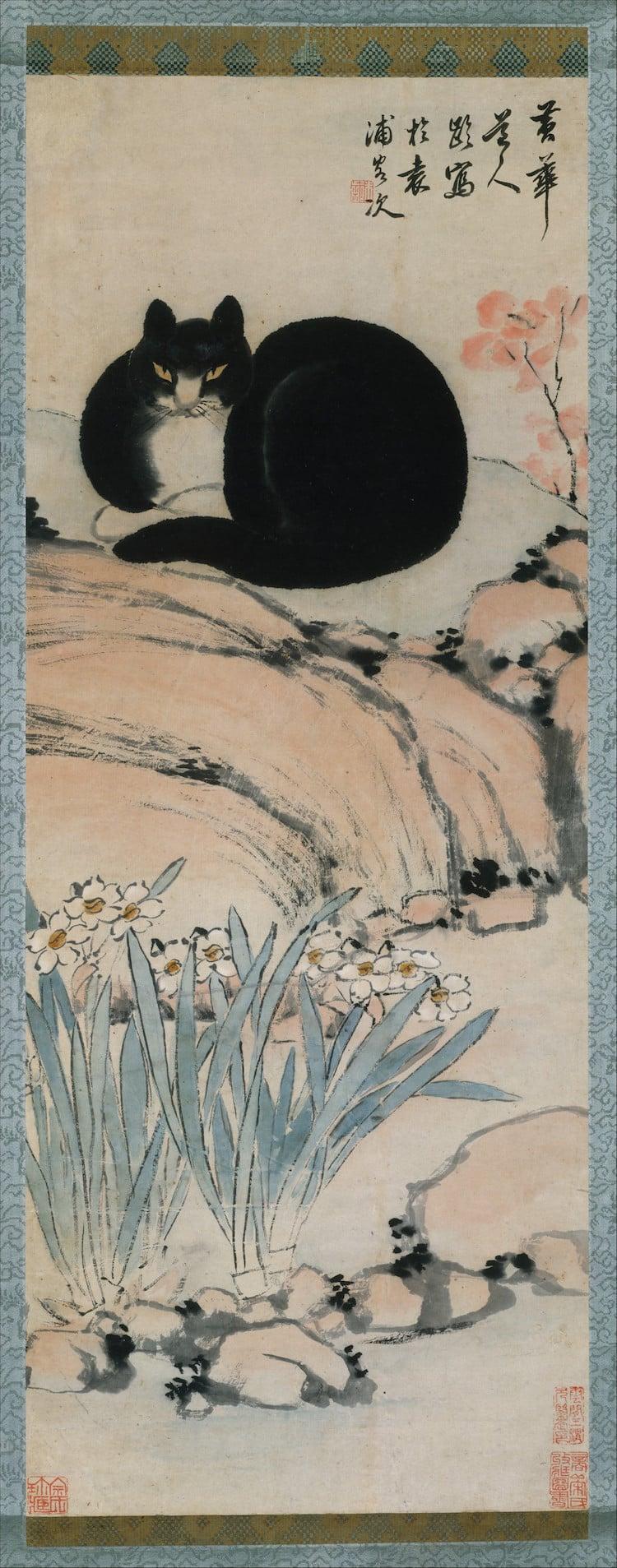 Cat Art Cats in Art History Cat Paintings