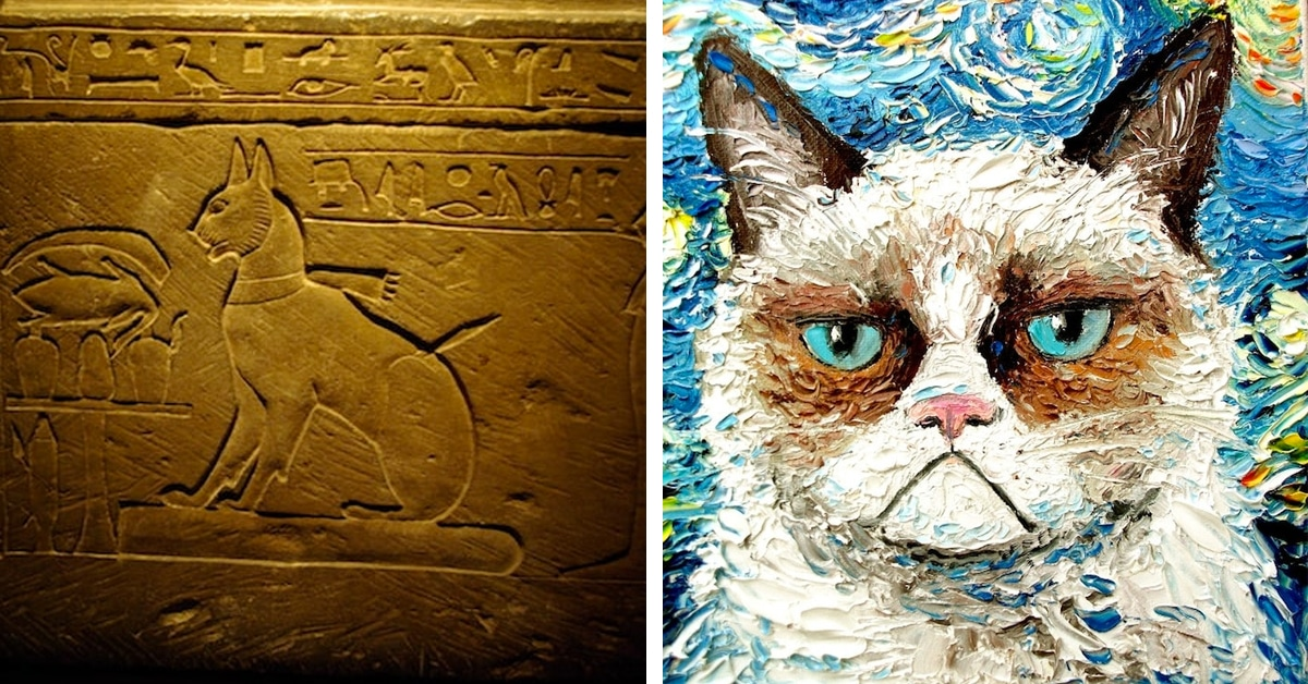 cats in art a look at art history movements that feature cat art