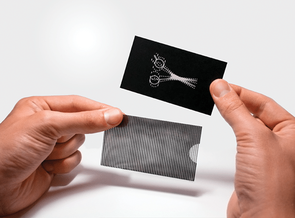 Cool Business Card for a Barber