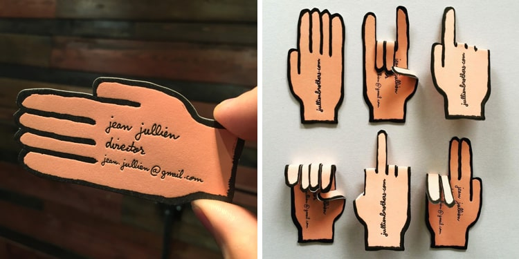 30 cool business card ideas that will get you noticed cool business card designs reheart Gallery