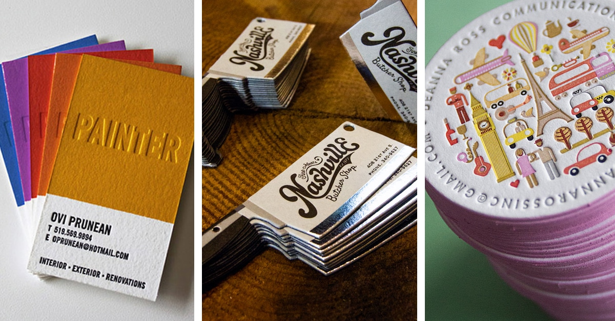 40 Cool Business Card Ideas That Will Get You Noticed