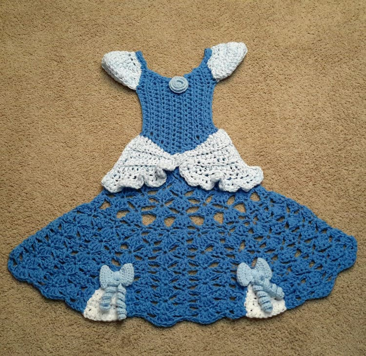Princess Dress Crochet Blanket Patterns Transform Anyone