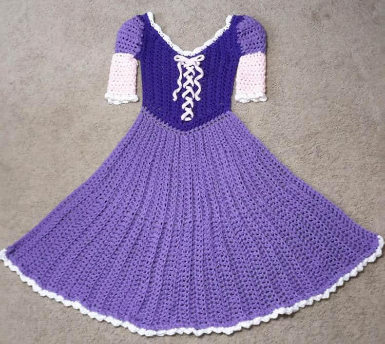 Princess Dress Crochet Blanket Patterns Transform Anyone ...
