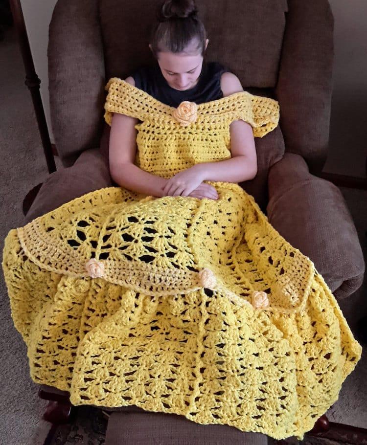 Princess Crochet Blanket Pattern
