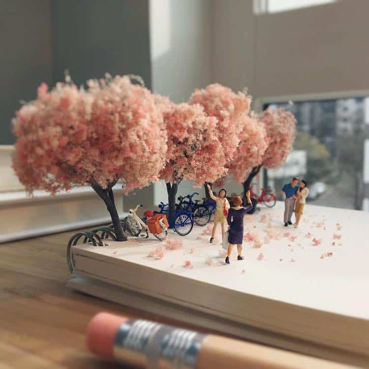 Derrick Lin Tiny Sculptures