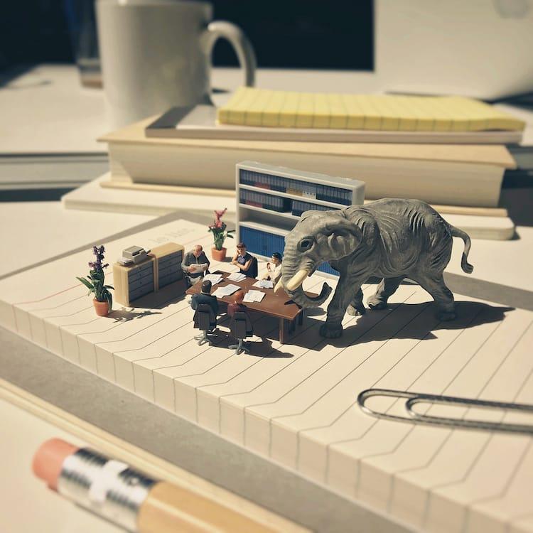 Derrick Lin Miniature Art