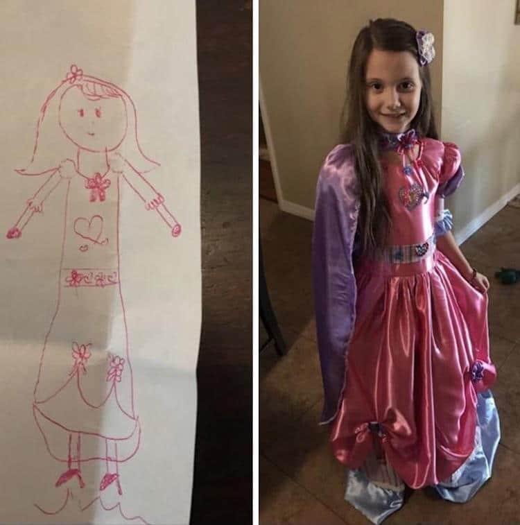 Dream Dress Drawing Cute Grandma