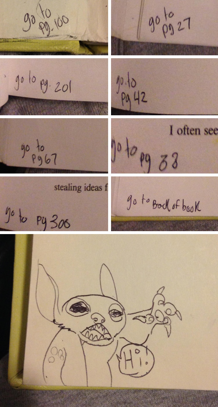 Funny Textbook Drawings