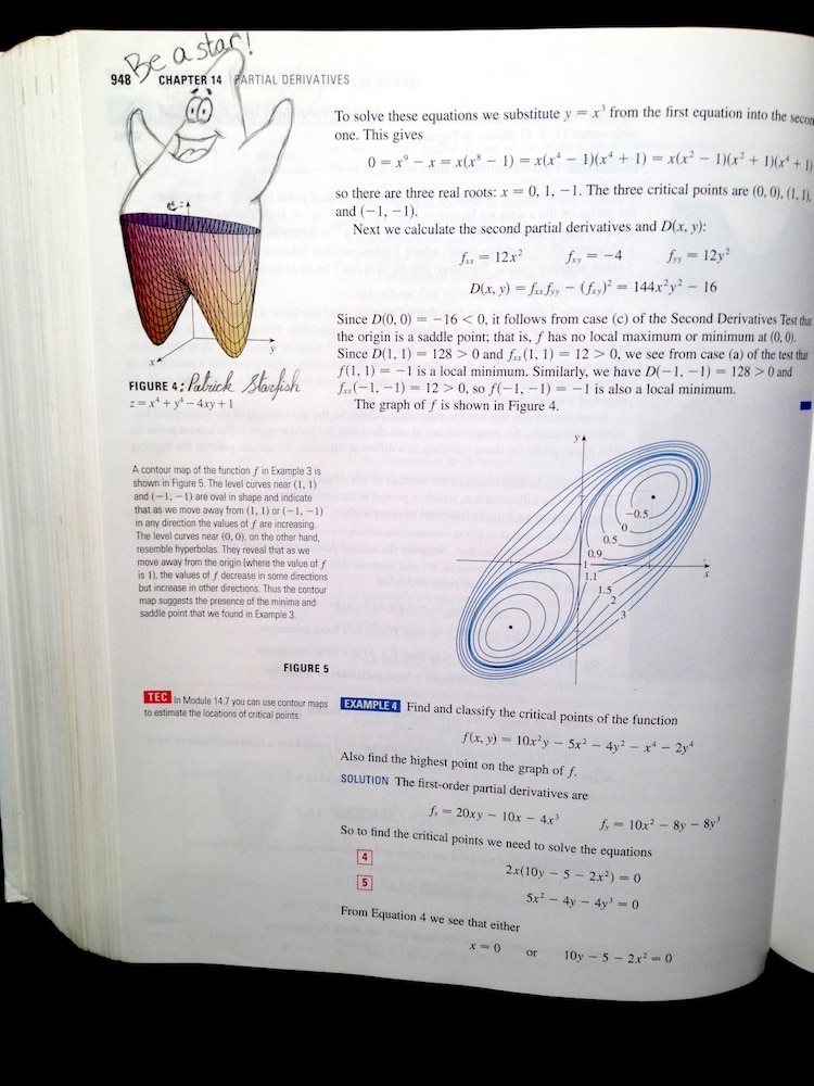 Best Textbook Doodles by Bored Students