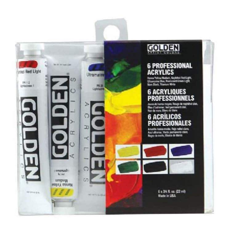 Best Acrylic Paint Golden Heavy Body Acrylics