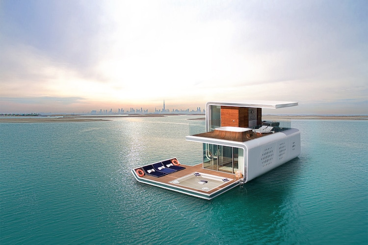 Underwater Homes Underwater House Dubai The Heart of Europe Floating Seahorse
