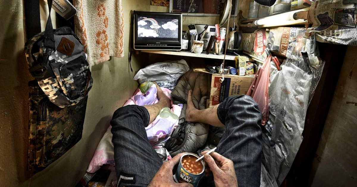 The Human Soul Is Like A Bird That Is Born In A Cage: Inside Hong Kong's Housing Crisis Via Shocking Images Of