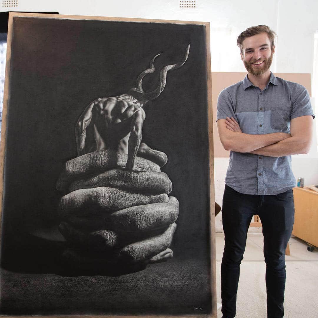 Hyperrealism Art by Jono Dry
