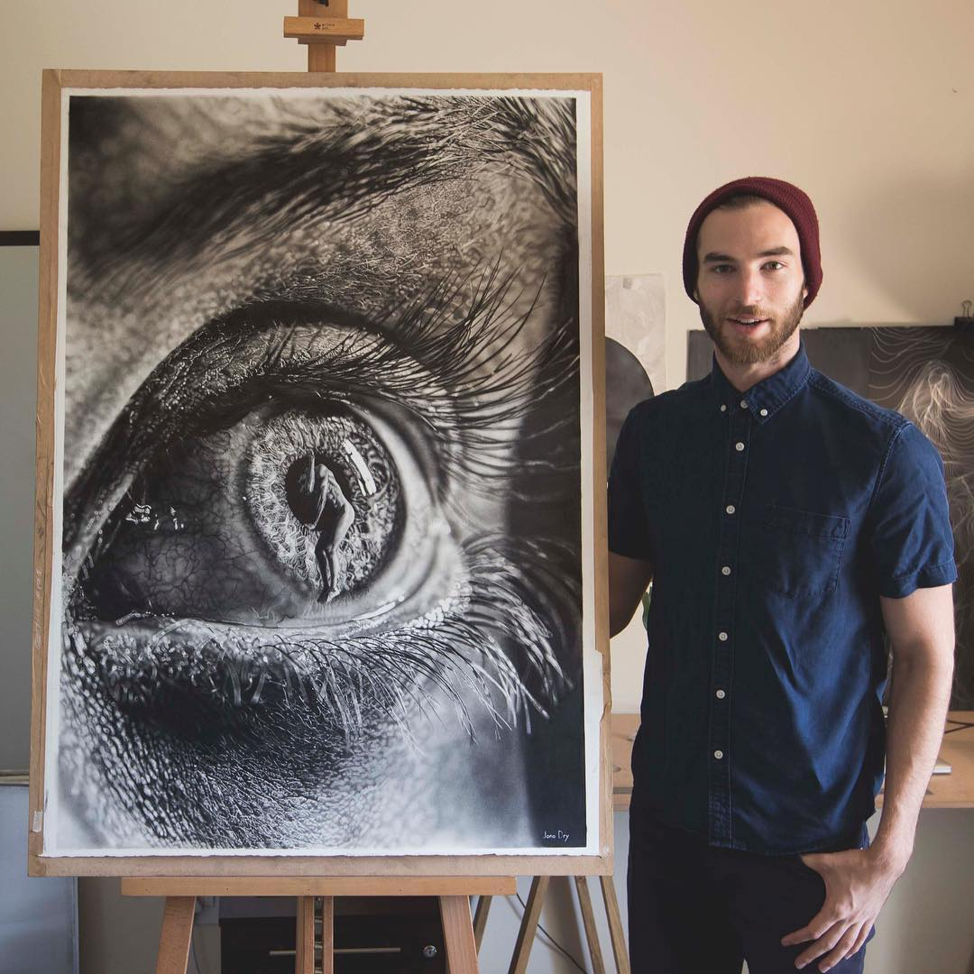 Hyperrealism Art by Jono Dry