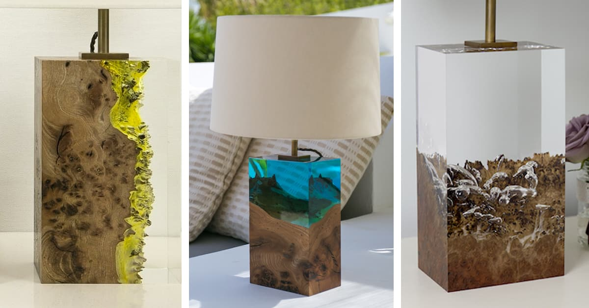 Modern Wood Lamps Encapsulate The Dramatic Beauty Of The Forest