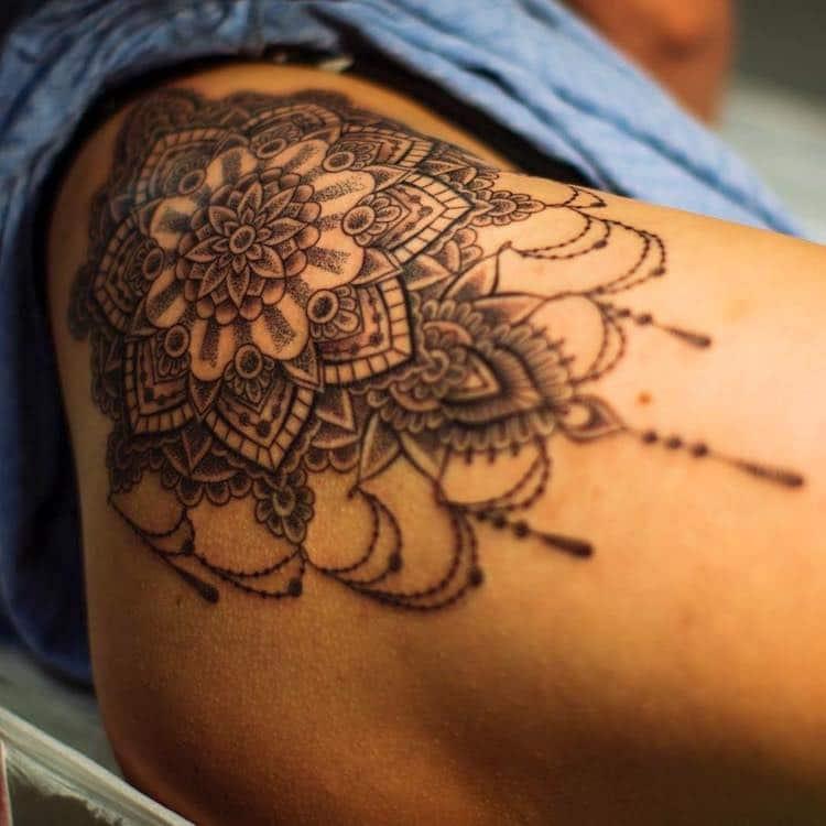 Victorian Lace Tattoo