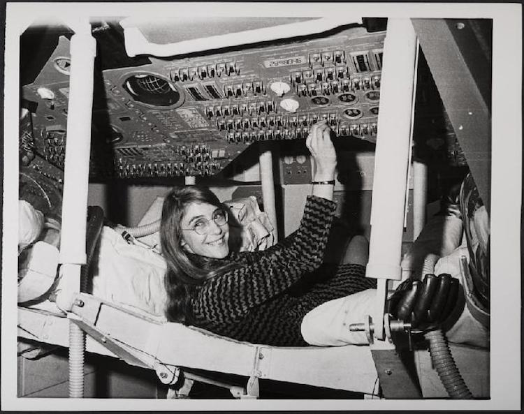 Margaret Hamilton MIT software programmer