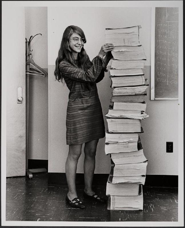 Margaret Hamilton NASA Software Engineer