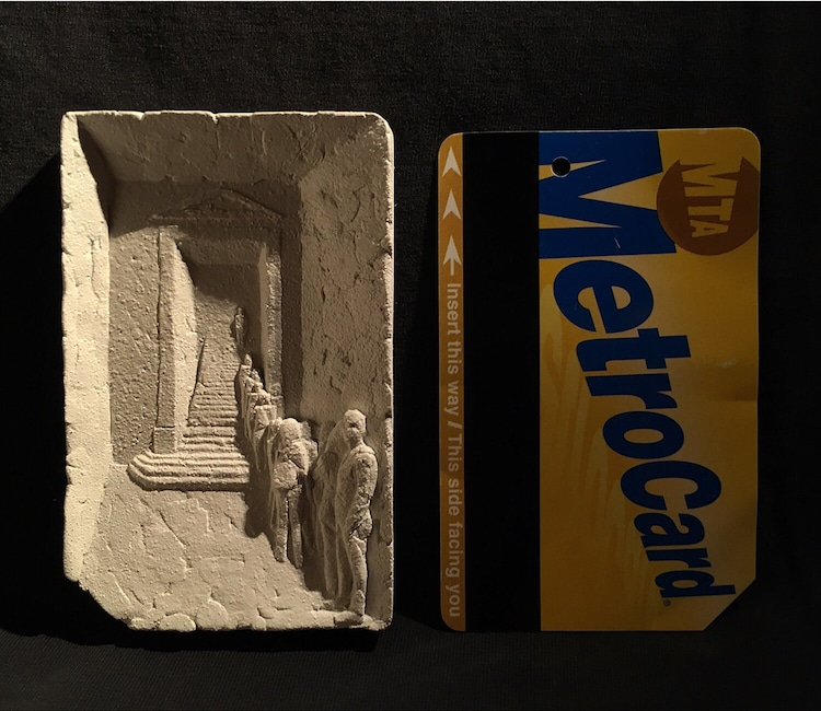 Metrocard Paintings Singlefare Jiannen Wu